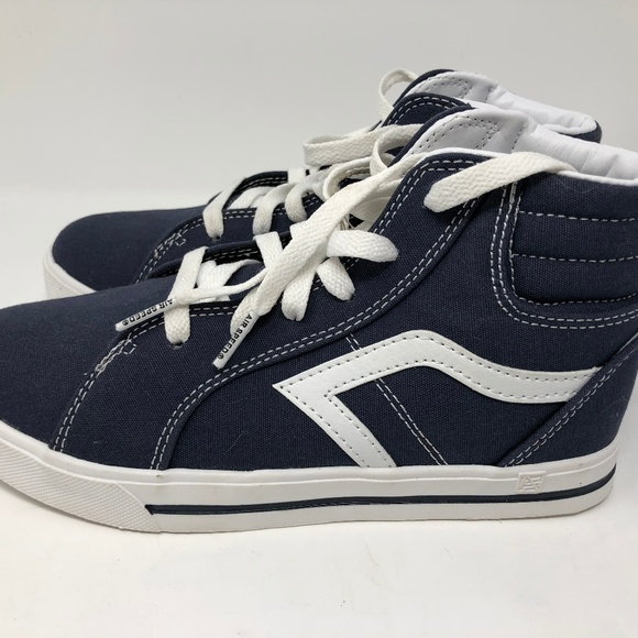 air speed Other - Boys Shoes BLUE CANVAS HIGH TOP SNEAKERS